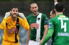 Caulfield sent to the stand, but Cork rally to earn a point at Dundalk