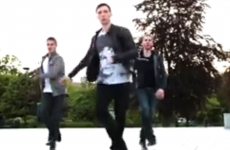 People are loving these three guys Irish dancing at UCC