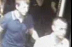 These two men may have witnessed a serious sexual assault and police want to speak to them
