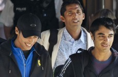 3 accused Pakistani cricketers go home from tour
