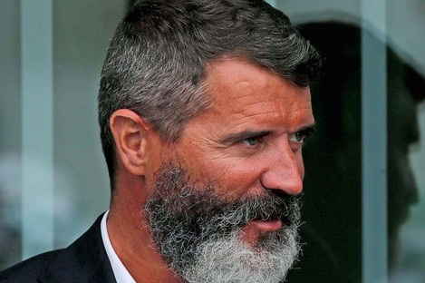 Republic of Ireland assistant manager Roy Keane at FAI headquarters in Abbotstown today.