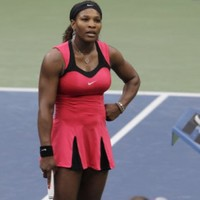 Serena loses temper and US Open to Stosur