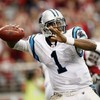 WATCH: Cam Newton lands a 77-yard bomb on his NFL debut