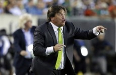 Mexico sack coach Miguel Herrera for allegedly punching journalist in airport