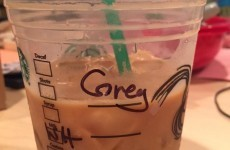 The name on this Starbucks cup has divided the internet