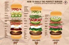 8 infographics that will help you get the absolute best out of your burgers