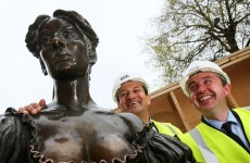 It's official: tourists can't keep their hands off Molly Malone's boobs