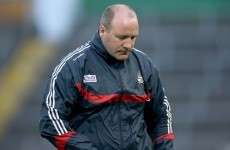 Confirmed: Brian Cuthbert steps down as Cork football manager