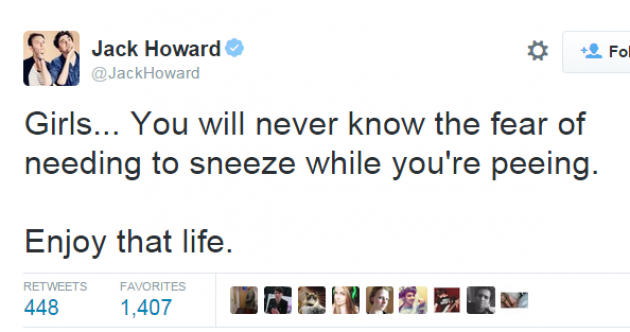 This guy made a faux pas about periods on Twitter and will always regret it