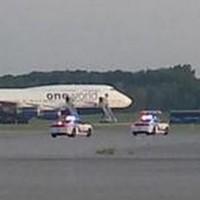British Airways flight makes emergency landing after 'bomb threat'