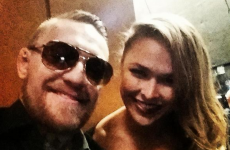 'Ronda Rousey would throw me on my head in literally one second flat' -- Conor McGregor