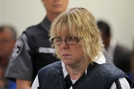 Joyce Mitchell appearing in court.