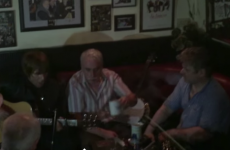 Here's Liam Gallagher having a session with some auld lads in a Mayo pub