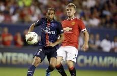 Van Gaal reveals his defensive line-up for Man United's league opener against Tottenham