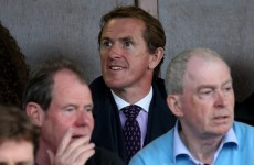 AP McCoy jumped on the Limerick hurling bandwagon for tonight's Munster U21 final win