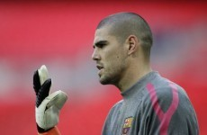 Watch: Casual Valdes almost embarrassed by back pass