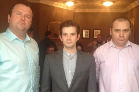 Identity Ireland founders Alan Tighe, Peter O'Loughlin and Gary Allen