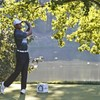 5 under par today, Tiger Woods is on fire and in the hunt to win his own tournament