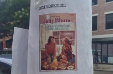 A man accidentally gave away his wife's 'irreplaceable' book, and Judy Blume saved the day