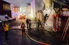 Firefighters battle two 'substantial' fires in Dublin