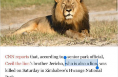 Everyone is sharing this mortifying Cecil the lion clarification... but all isn't as it seems