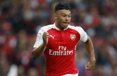 The Ox clinches the Community Shield for Arsenal with an absolute bullet