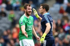 'There was a bit of a divot and he tripped into the net' - Sean Quigley on that controversial goal