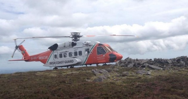 Lucky escape for paraglider who crashed on Waterford mountain