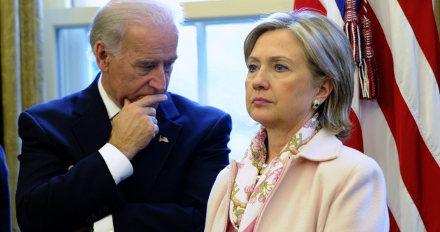 Is Joe Biden about to rain on Hillary Clinton's presidential parade?