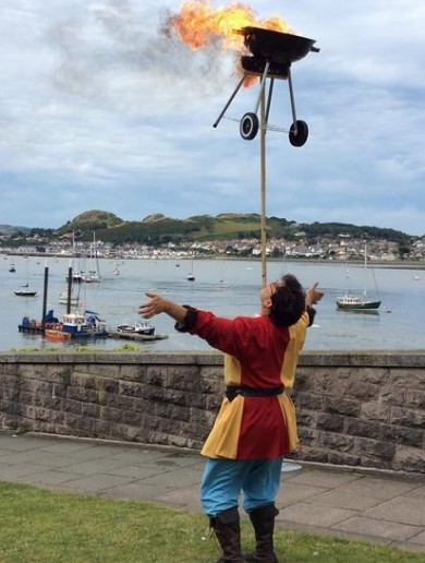 A Welsh town has just appointed its first resident jester in 700 years