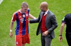 Guardiola casts doubts over Schweinsteiger's fitness
