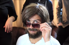 Ronaldo disguises himself as bearded street performer to play prank in Madrid