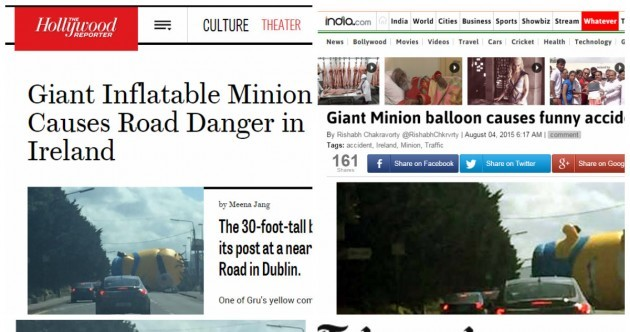 How the giant Dublin Minion captured the world's attention