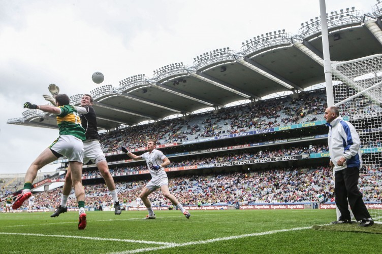 Kildare conceded seven goals at Croke Park on Sunday.