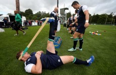 The best pics as Ireland's World Cup camp gets into gear at Carton House