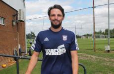 A former Irish international has joined Ipswich