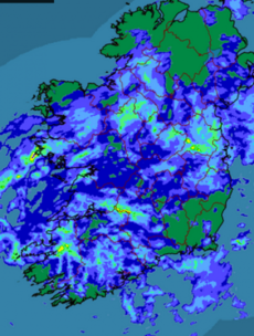 Ireland, is that you under there?