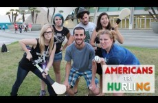 'I'm just a little confused' - Americans get their first taste of hurling