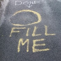 This helpful conversation was spotted on a road in Clare