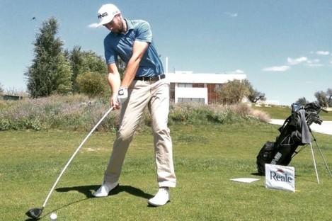 Irish golfer Ruaidhri McGee.