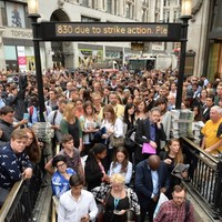 Pictures: London's having another 24-hour Tube strike (and it doesn't look at all fun)