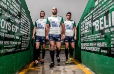 Here's Connacht's new white away jersey for the 2015/16 season