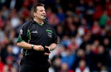 Top hurling referee Gavin to appeal proposed one-month ban after Offaly club game incident