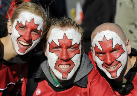 Tonga fans, obviousy. Wait, what?