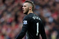 De Gea left out for United's opener as speculation over Madrid move increases