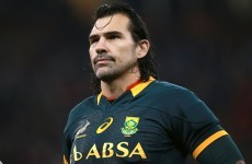 Premiership club play down reports that they're about to sign Victor Matfield