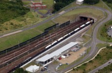 Man charged after 'walking most of the Channel Tunnel'