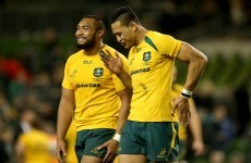 There was a brilliant Wallabies' front row try against the All Blacks