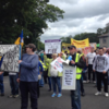 'Irish Water is dead': Hundreds turn out for protest in Alan Kelly's hometown