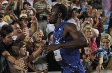 WATCH: Bolt bounces back with 9.85 in Zagreb